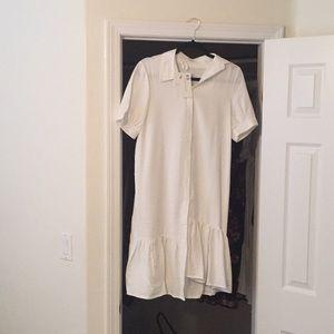 White Shop Stevie Dress